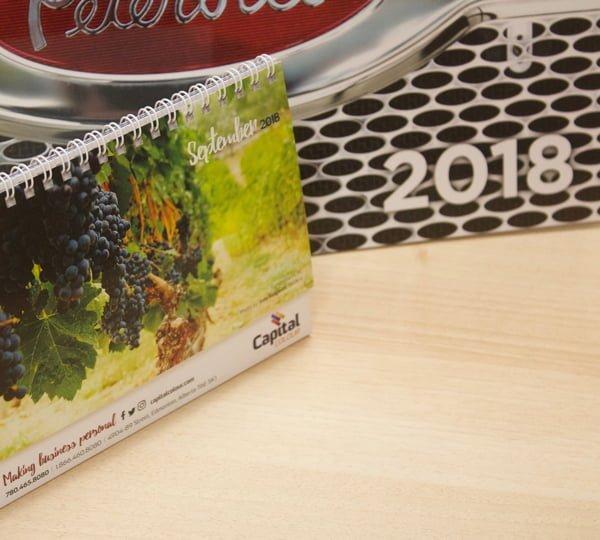 calendar printing edmonton - custom calendars