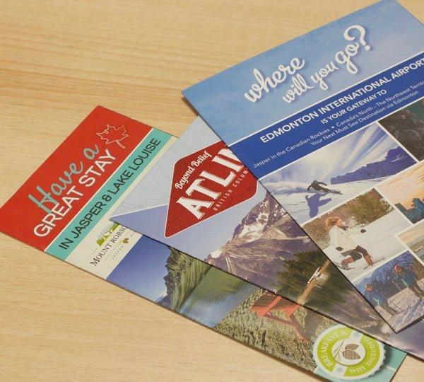 edmonton specialty printing - brochures