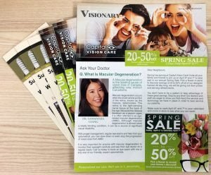 edmonton brochure printing - commercial example