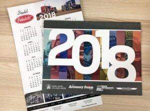 2018 example - edmonton calendar printing