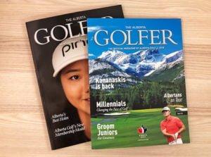 golf example - edmonton magazine printing