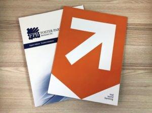 edmonton presentation folder printing - 2 example presentation folders